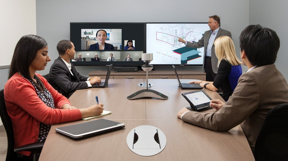 Polycom cx8000 video conferencing system for Office design video conferencing