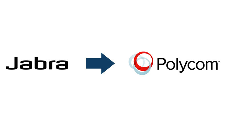 Jabra and Polycom Logos
