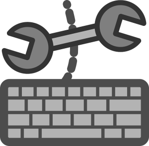Wrench and Keyboard