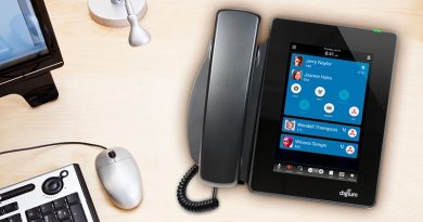 Digium D80 IP Phone on Desk