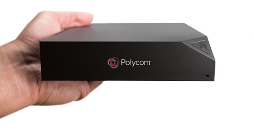 Polycom Pano in Hand