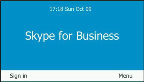 Skype for Business Screenshot