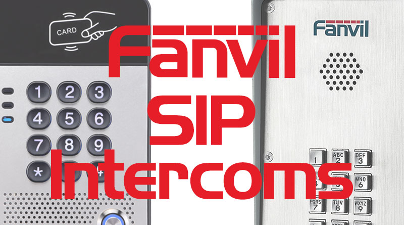 Fanvil SIP Intercoms