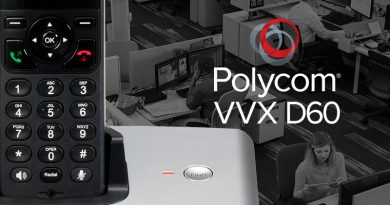 Polycom VVX D60 IP Wireless Handset