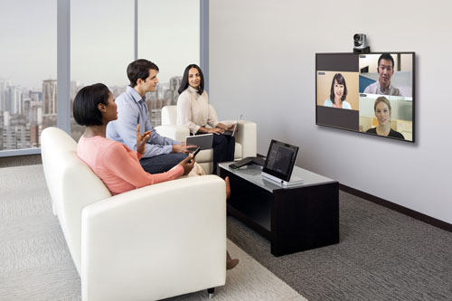 Polycom Video Conference Call