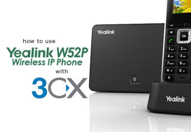Yealink W52P with 3CX
