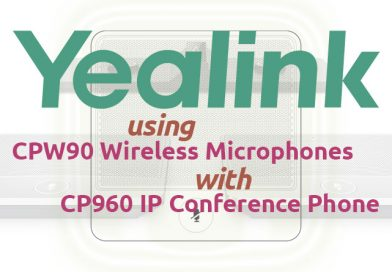 Yealink CP960 + Yealink CPW90