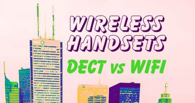 Wireless Handsets - DECT vs WiFi