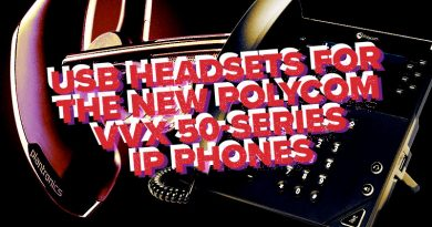 USB Headsets for the New Polycom VVX 50-Series IP Phones