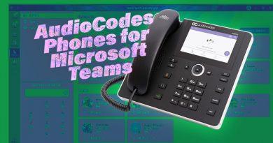 AudioCodes Phones for Microsoft Teams