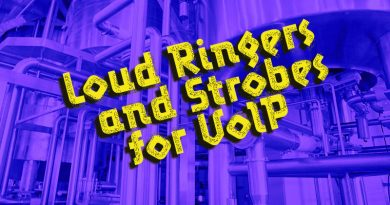 Loud Ringers and Strobes for VoIP