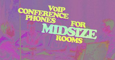 VoIP Conference Phones for Midsize Rooms