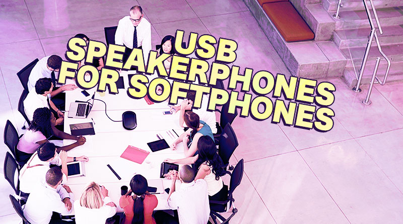 USB Speakerphones for Softphones