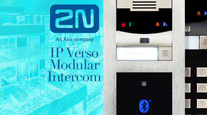 2N IP Verso Modular Intercom