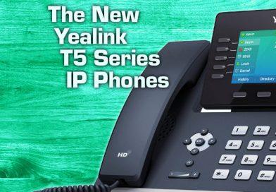 The New Yealink T5 Series IP Phones