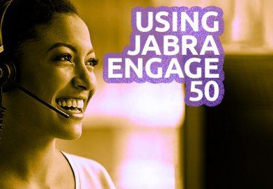 Using Jabra Engage 50