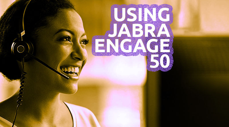 Using Jabra Engage 50