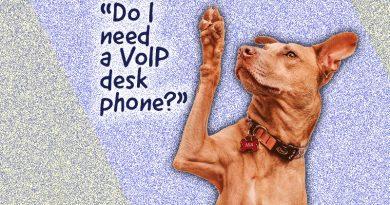 """Do I need a VoIP desk phone?"""