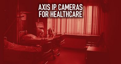 Axis IP Cameras for Healthcare