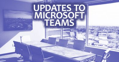Updates to Microsoft Teams