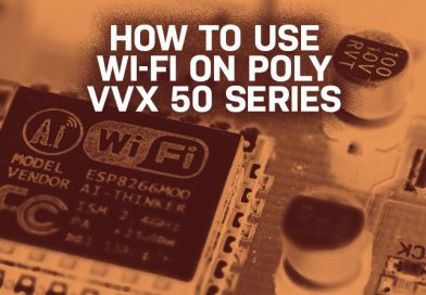 How to Use Wi-Fi on Poly VVX 50 Series
