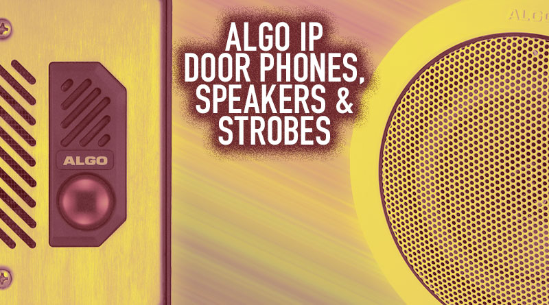 Algo IP Door Phones, Speakers & Strobes