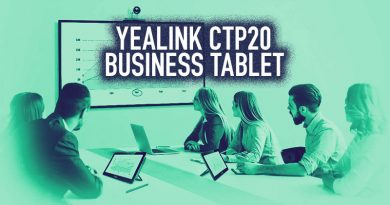 Yealink CTP20 Business Tablet