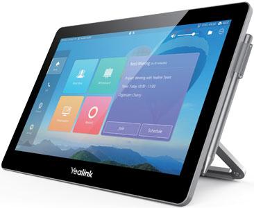 Yealink CTP20 Business Tablet, Left