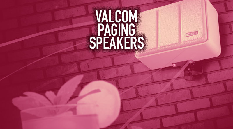 Valcom Paging Speakers