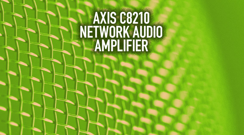 Axis C8210 Network Audio Amplifier