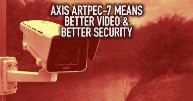 Axis ARTPEC-7 Means Better Video & Better Security