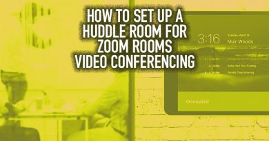 How to Set Up a Huddle Room for Zoom Rooms Video Conferencing