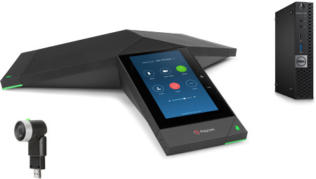 Polycom Trio 8500 Zoom Rooms Kit