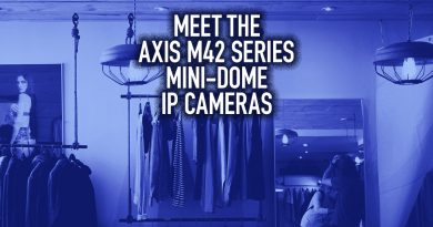 Meet the Axis M42 Series Mini-Dome IP Cameras