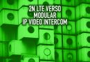2N LTE Verso Modular IP Video Intercom