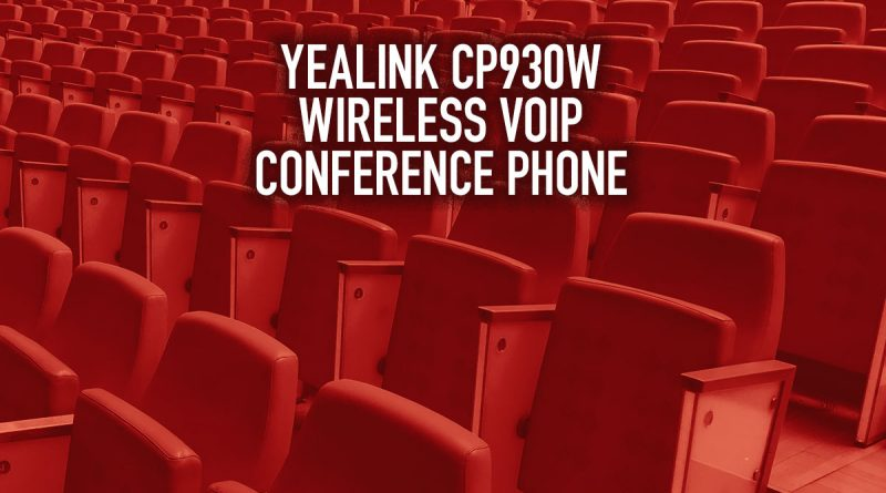 Yealink CP930W Wireless VoIP Conference Phone
