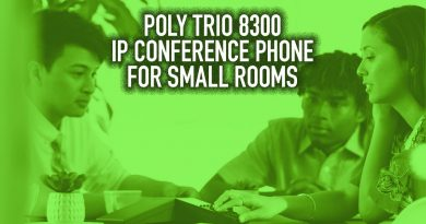 Poly Trio 8300 IP Conference Phones for Small Rooms