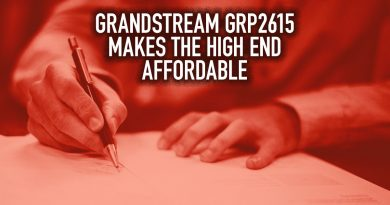 Grandstream GRP2615 Makes the High End Affordable