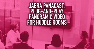 Jabra PanaCast: Plug-and-Play Panoramic Video for Huddle Rooms