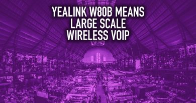 Yealink W80B Means LARGE SCALE Wireless VoIP
