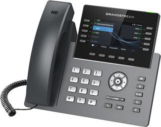 Grandstream GRP2615 IP Phone, Left