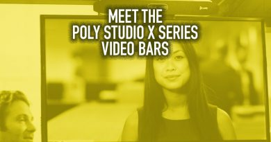 Meet the Poly Studio X Series Video Bars