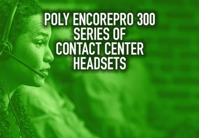 Poly EncorePro 300 Series of Contact Center Headsets