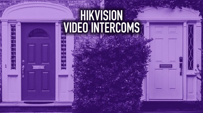 Hikvision Video Intercoms