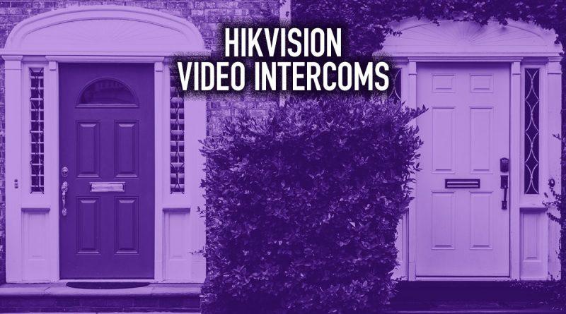 Hikvision Video Intercoms