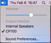 Audio Input Selection