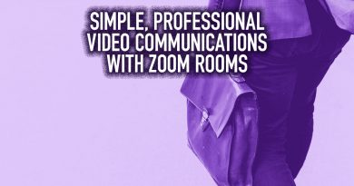 Simple, Professional Video Communications with Zoom Rooms